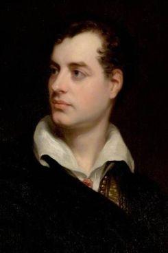 Byron ritratto da. Thomas Phillips, 1813