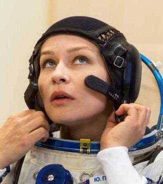 Yulija Peresild, 37 anni, si è preparata per diventare la prima attrice astronauta
