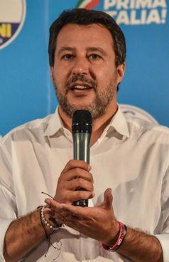 Il leader leghista Matteo Salvini, 48 anni