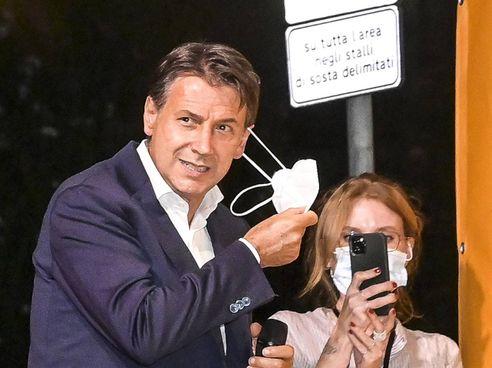 L'ex premier Giuseppe Conte, 57 anni, presidente del Movimento 5 Stelle