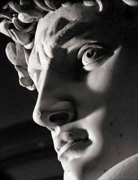 Il David di Michelangelo in un celebre scatto di Aurelio Amendola