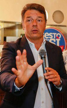L'ex premier Matteo Renzi, 46 anni