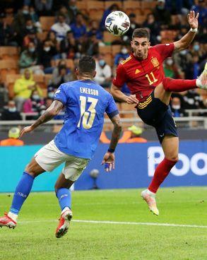 Il secondo gol di Ferran Torres ha di fatto chiuso il discorso già nel primo tempo, anche per l'espulsione di Bonucci. Pellegrini ha segnato troppo tardi