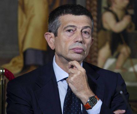 Il deputato Maurizio Lupi, 62 anni, presidente di Noi con l'Italia