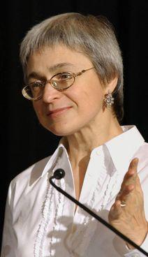 Anna Politkovskaya, giornalista russa, uccisa nel 2006 a 48 anni