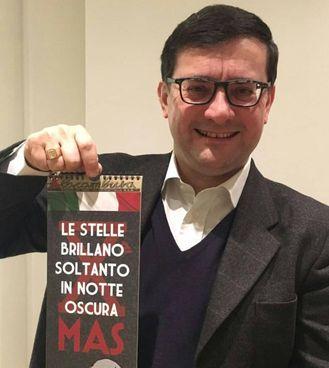 Roberto Jonghi Lavarini, 49 anni, esponente dell'estrema destra milanese, detto «Barone nero»