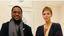 La principessa Charlene di Monaco e il Re degli Zulu