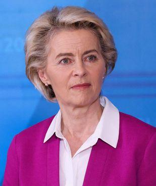 Ursula von der Leyen, 63 anni, è presidente della Commissione Europea dal dicembre del 2019