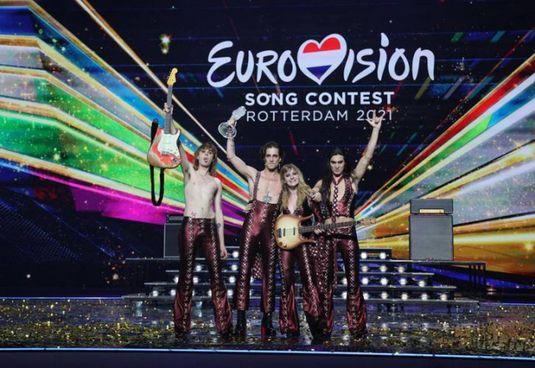 I Maneskin festeggiano a Rotterdam il successo all'Eurovision 2021