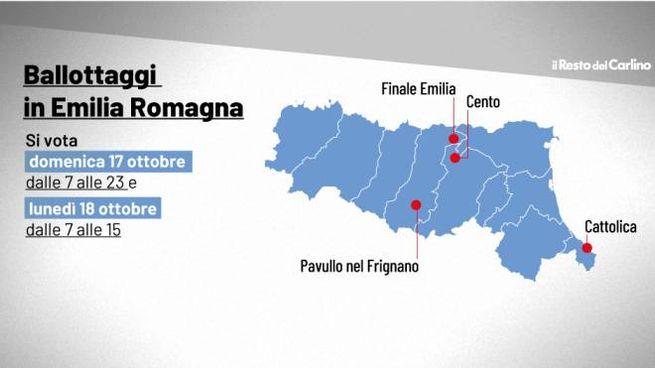 Ballottaggi elezioni comunali 2021: dove si vota in Emilia Romagna - Politica - ilrestodelcarlino.it