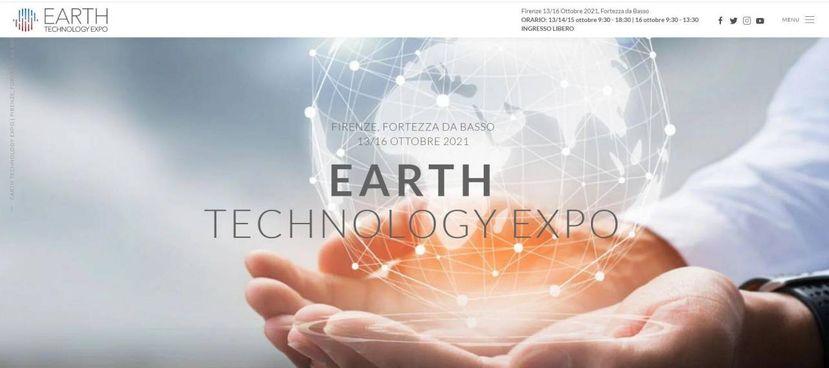 DAL TREDICI AL SEDICI OTTOBRE Il salone Earth Technolgy Expo si terrà a Firenze dal 13 al 16 ottobre