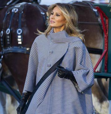 Melania Trump, 51 anni, ex modella slovena, è stata first lady Usa dal 2017 al 2021