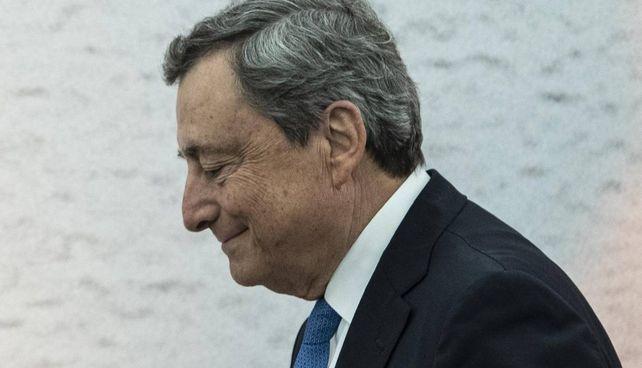 Il premier Mario Draghi, 74 anni, al G20 straordinario sull'Afghanistan