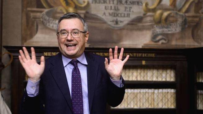 Il professor Alessandro Barbero (Ansa)
