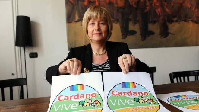 Laura Prati, il sindaco di Cardano al Campo morta nel luglio 2013 (Newpress)