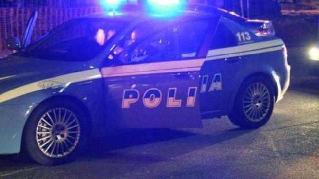 Una volante della Polizia in una foto d'archivio