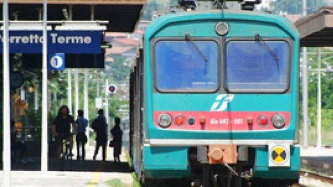 La stazione di Porretta Terme