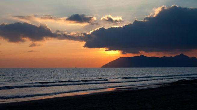 Tramonto sul mar Tirreno (Foto L.Gallitto)