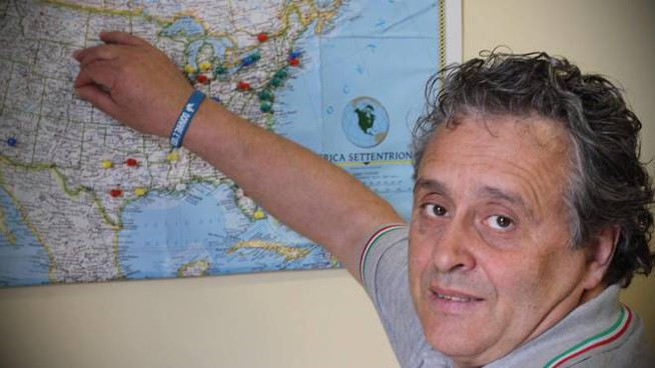 Massimo Pieraccini (foto Marco Mori/New Pressphoto)