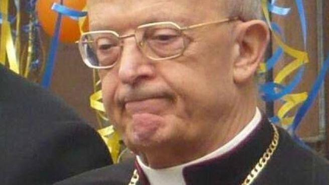 Monsignor Gioia, ex arcivescovo di Camerino (Foto Zampetti)