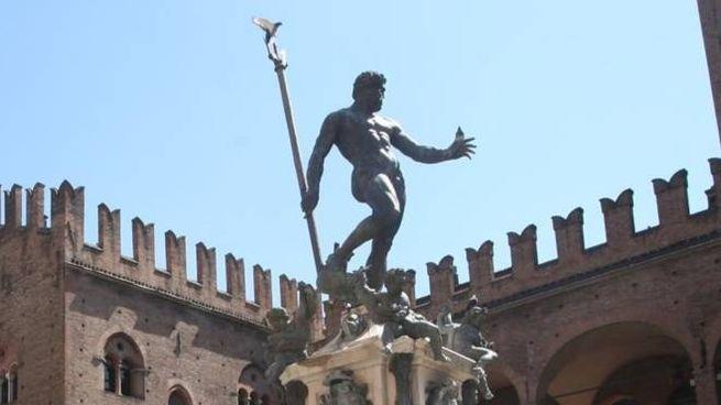 Il Nettuno, simbolo di Bologna (FotoSchicchi)