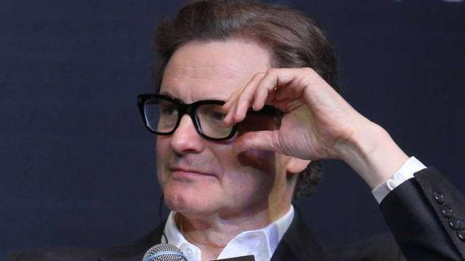 Colin Firth alla prima di 'Kingsman' in Cina (Olycom)