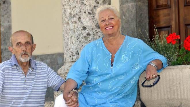 ORA SONO FELICI Maria Luigia Redoli, non più Circe della Versilia, col suo secondo marito Alberto Andena