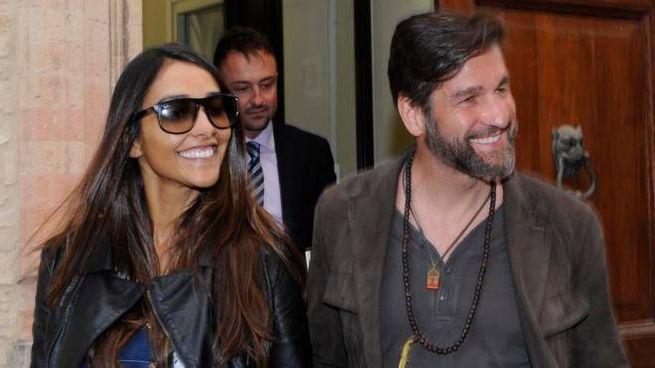 Juliana Moreira con Edoardo Stoppa (foto Calavita