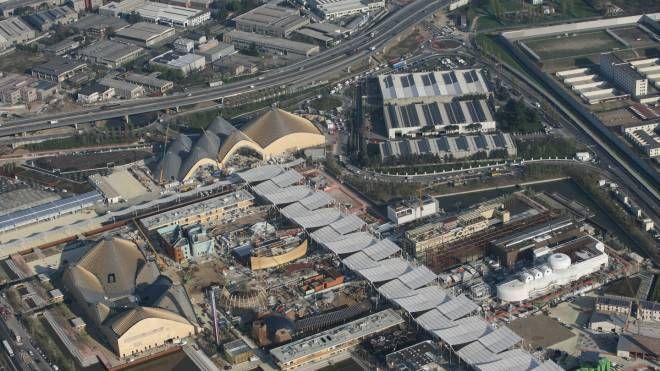Il sito di Expo dall'alto