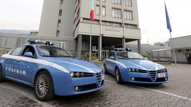 Polizia a Brescia