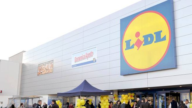 Un supermercato Lidl
