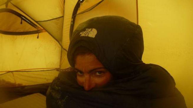 Annalisa Fioretti al campo base