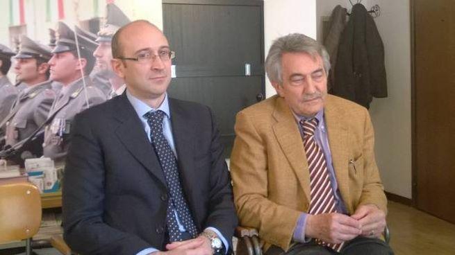 Giuseppe Luciani e Secondo Malaguti (foto Giacomo Prencipe)