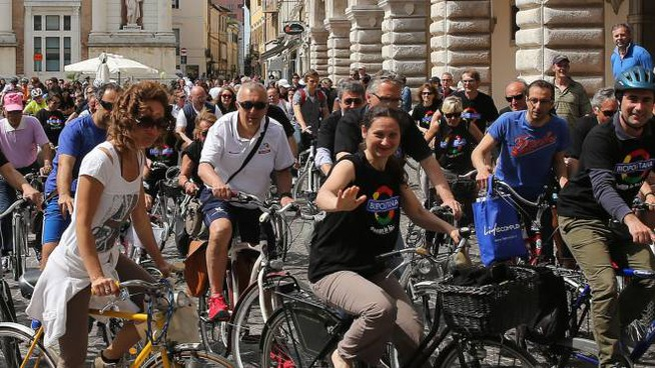 Tutti in bici (Fotoprint)