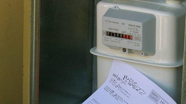 Un contatore del gas
