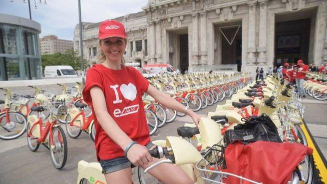 BikeMi,  biciclette elettriche a Milano