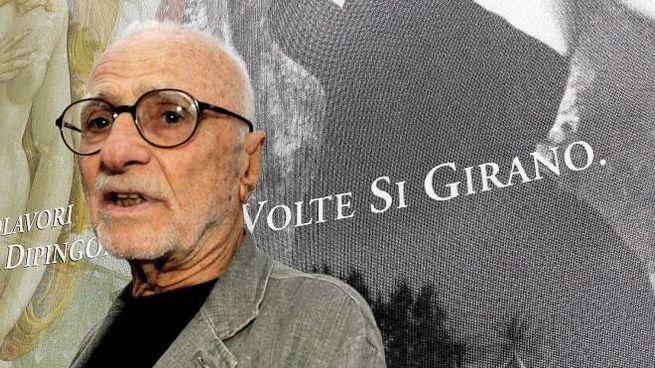 Il regista Mario Monicelli (Ansa)