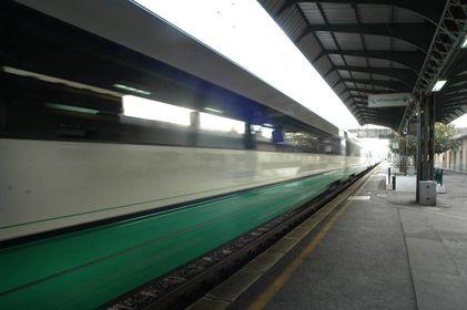 Un treno (Foto di repertorio Pressphoto)