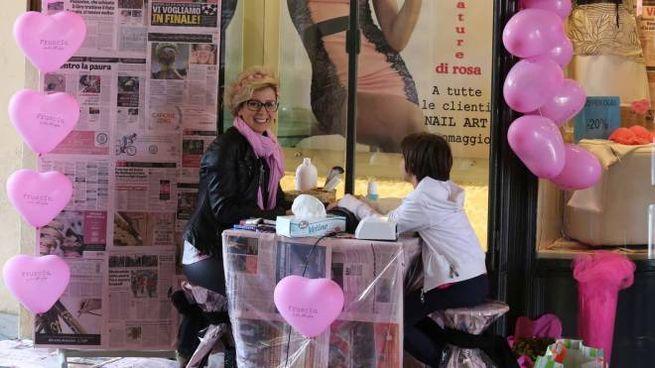 Addobbi per il Giro d'Italia