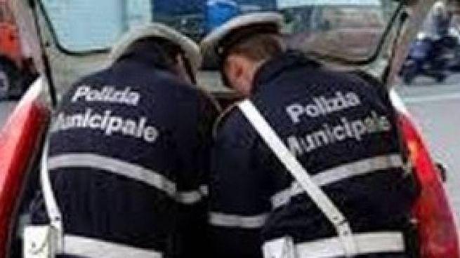 Polizia municipale (foto di archivio)