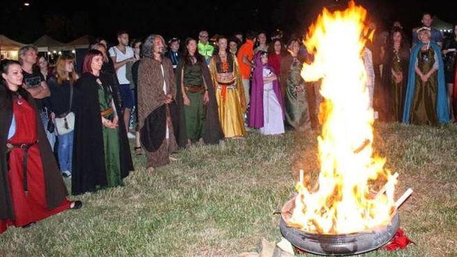 IL FUOCO Misteri e riti iniziatici, le tradizioni e le culture dei popoli celti ad «Arezzo celtic festival» che si terrà dal 12 al 13 giugno a Villa Severi