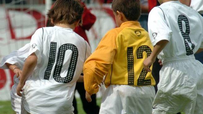 Una partita di calcio giovanile
