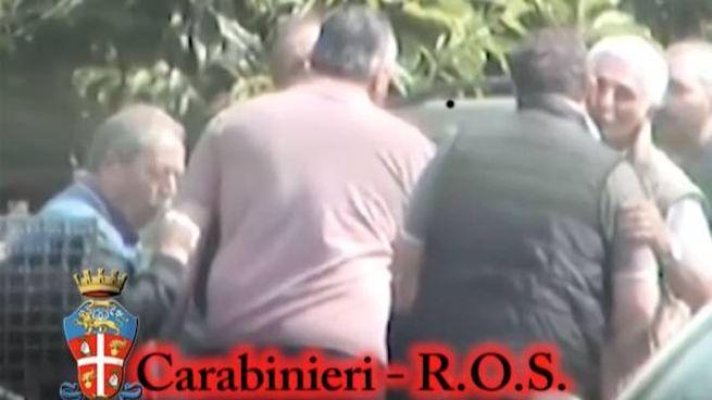 Il giramento 'ndranghetista filmato dai Ros