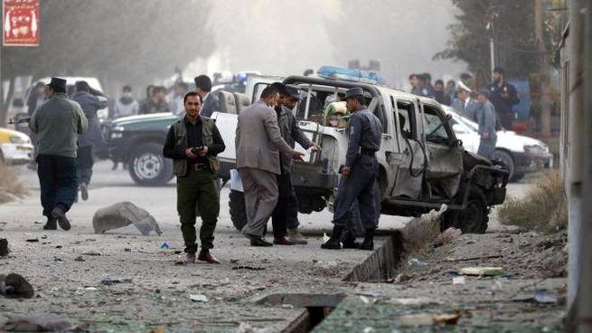 Attacco bomba a Kabul (Ansa)