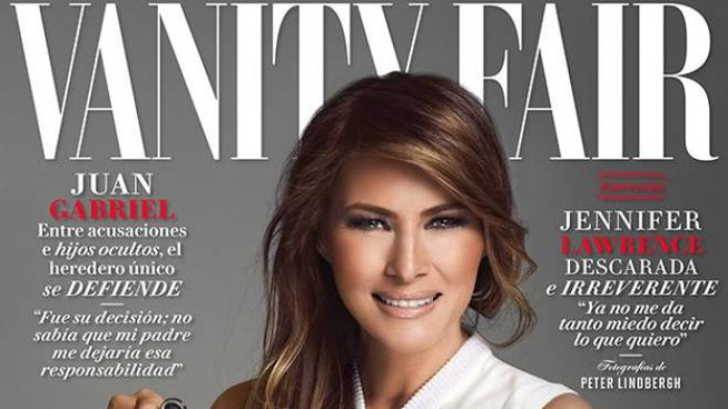 Melania Trump su Vanity Fair Messico