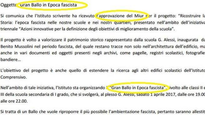 Roma Scuola Organizza Gran Ballo Fascista E Bufera Cronaca Quotidiano Net