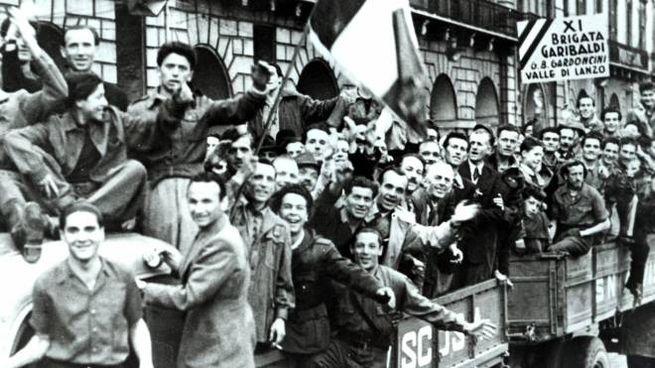 Festa per la Liberazione dal nazifascismo (LaPresse)