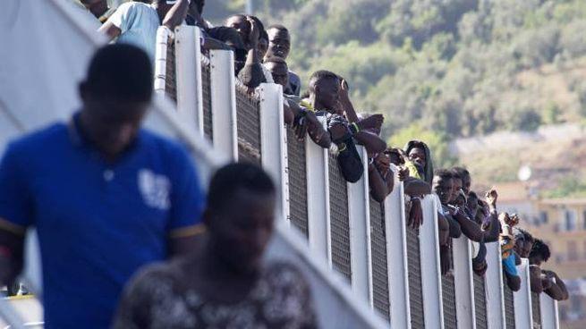 Emergenza migranti (Olycom)
