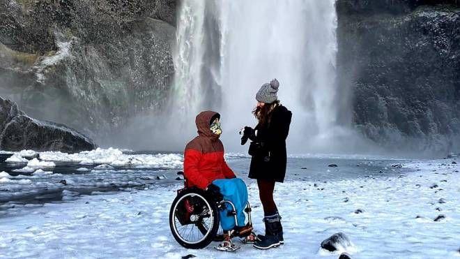 In sedia a rotelle fra deserti e ghiacciai: viaggi da ...