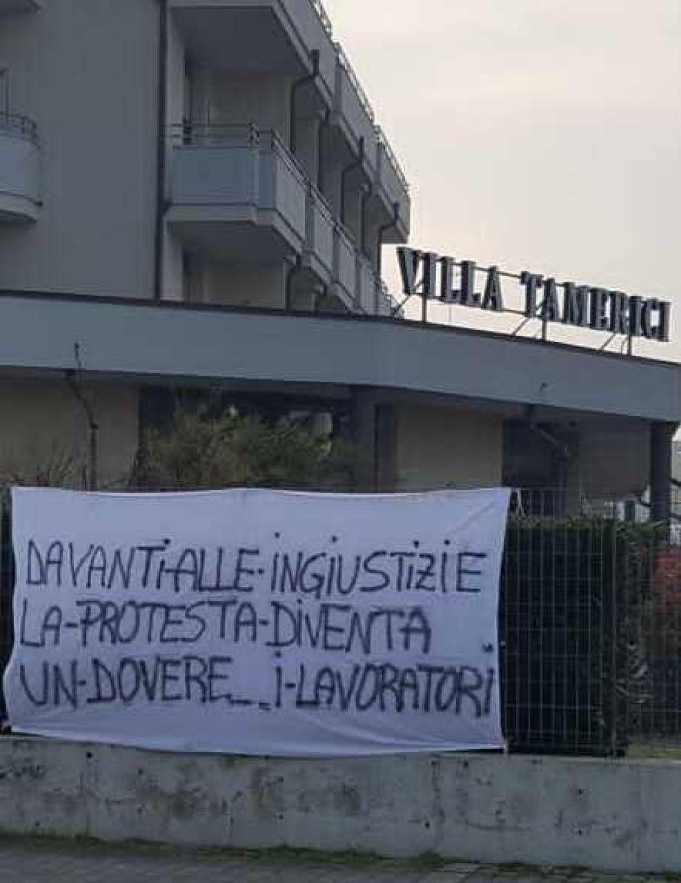 Striscioni e rabbia a Villa Tamerici E' la giornata della ...